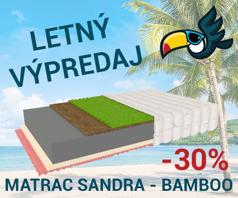 Matrac Sandra 30% zľava